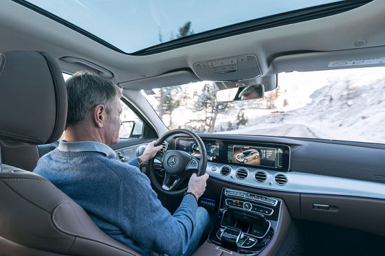 Mercedes e klasse all terrain 2016 im test fahrbericht for Interieur e klasse