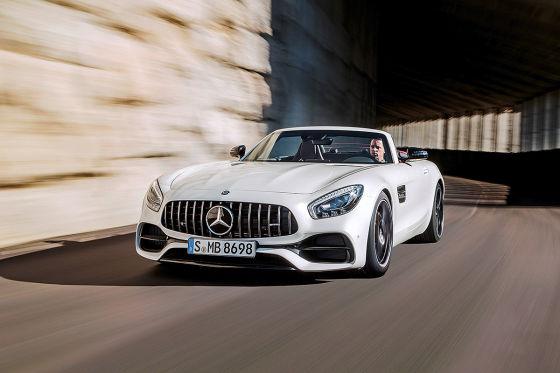 Mercedes-AMG GT C Roadster (2017): Fahrbericht - autobild.de