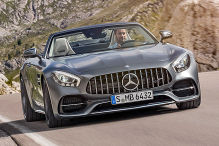 Mercedes-AMG GT C Roadster (2016): Sitzprobe