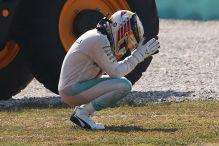 Hamiltons Drama, Ricciardos Schuh-Show