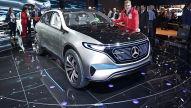 Mercedes EQ SUV (2016): Sitzprobe
