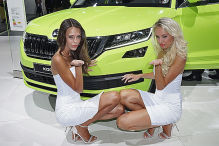 Autosalon Paris 2016: Hostessen