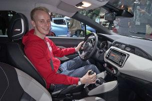 Nissan Micra (Paris 2016): Sitzprobe