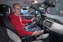 Nissan Micra (2016): Sitzprobe