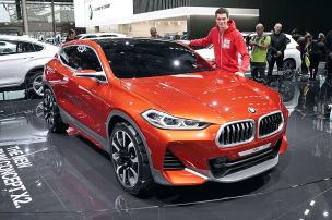 Ganz nah dran am BMW X2