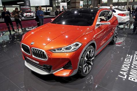 BMW Concept X2 (2016): Erstkontakt mit dem SUV-Coupé