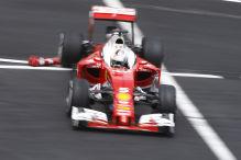 Formel 1: Ferrari in dritter Reihe