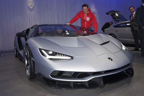 Lamborghini Centenario Roadster (2016): Sitzprobe
