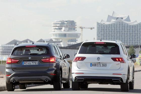 BMW X1 VW Tiguan