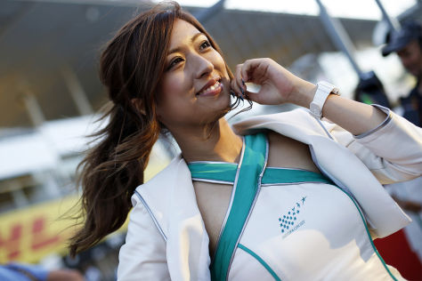 Formel 1: Bildergalerie: Grid-Girls
