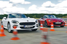 Fiat 124 Spider/Mazda MX-5: Test