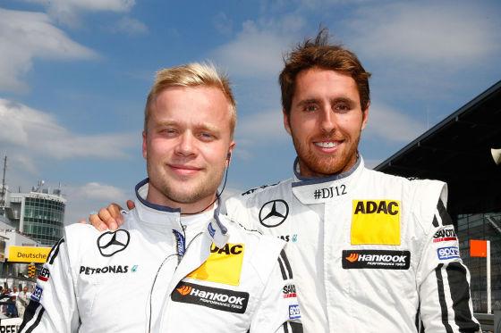 Felix Rosenqvist und Daniel Jucadella