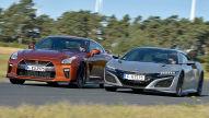 Honda NSX/Nissan GT-R: Test