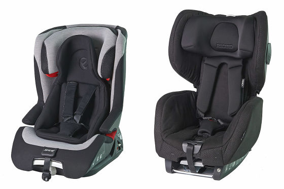 Recaro-Kindersitz fällt bei Crashtests durch