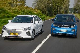 BMW i3/Hyundai Ioniq: Test