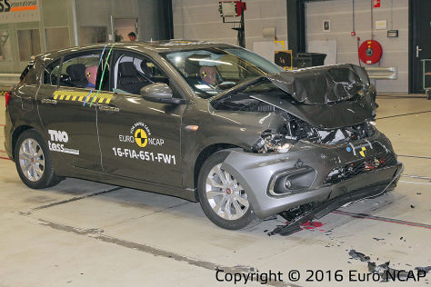 Mercedes-Benz E-Klasse: Euro NCAP Crashtest 2016