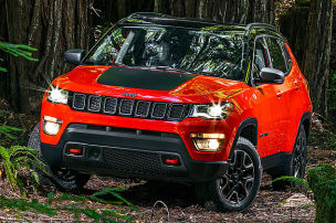 Jeep auf neuem Terrain