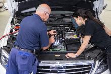 Neue Motoren bei Mercedes