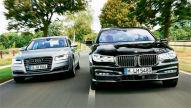 Audi A8/BMW 7er: Test