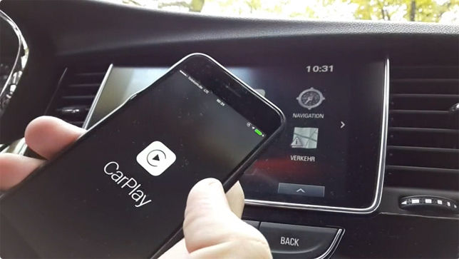 CarPlay im Opel Mokka