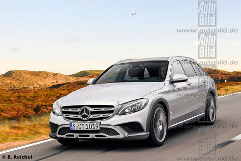 Mercedes C-Klasse T-Modell All Terrain (2018): Vorschau