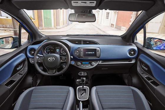 Toyota yaris facelift 2017 vorstellung und fahrbericht for Interieur yaris 2017