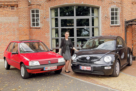 Peugeot 205, VW New Beetle