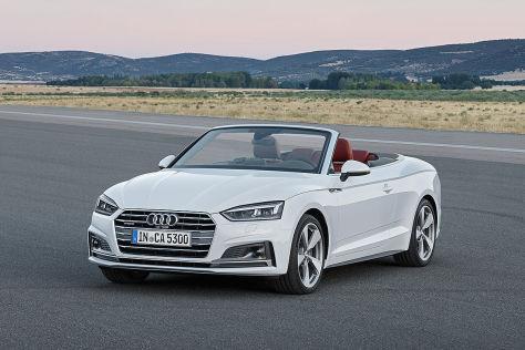 Audi A5/S5 Cabrio (2017): Vorstellung und Preis