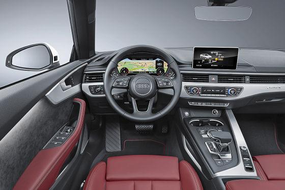 audi a5 s5 cabrio 2017 vorstellung motoren und preis. Black Bedroom Furniture Sets. Home Design Ideas