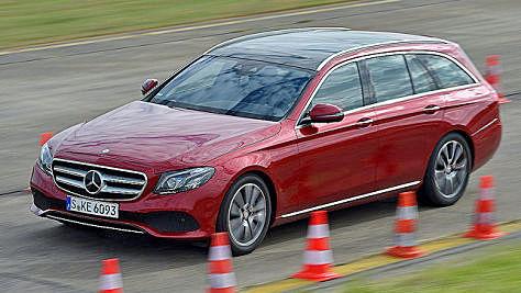 Mercedes E-Klasse T-Modell: Test