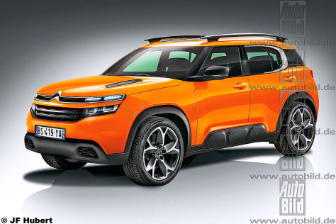 Citroën C4 Aircross Illustration