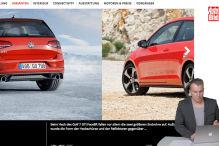 Facelift für die AUTO BILD Modellseite