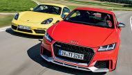 Audi TT RS/Porsche 718 Cayman S: Test