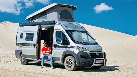 Hymercar Grand Canyon Crossover: Wohnmobil-Test