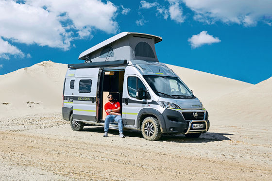 hymercar grand canyon crossover wohnmobil test. Black Bedroom Furniture Sets. Home Design Ideas