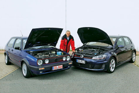 VW Golf II GTI G60, VW Golf VII GTI
