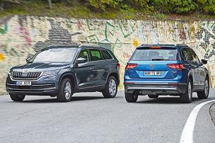 Skoda Kodiaq/VW Tiguan: Test