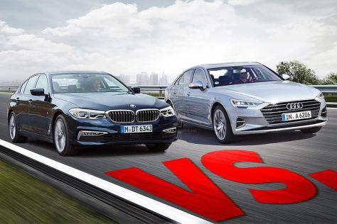 BMW 5er, Mercedes E-Klasse, Audi A6 und Co.