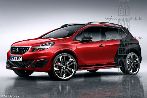 Peugeot 2008 GTi (2017): Vorschau