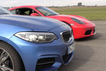 Dragrace: 718 Cayman vs M240i