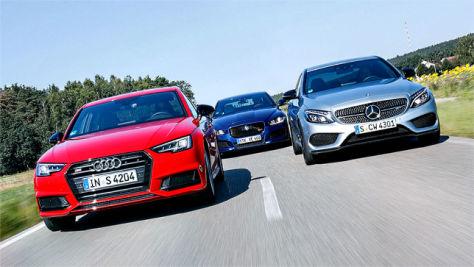Audi S4/Jaguar XE S/Mercedes-AMG C 43: Test