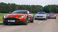 DB11/Continental GT Speed/AMG S 63: Test