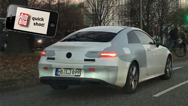 E-Klasse Coupé Erlkönig