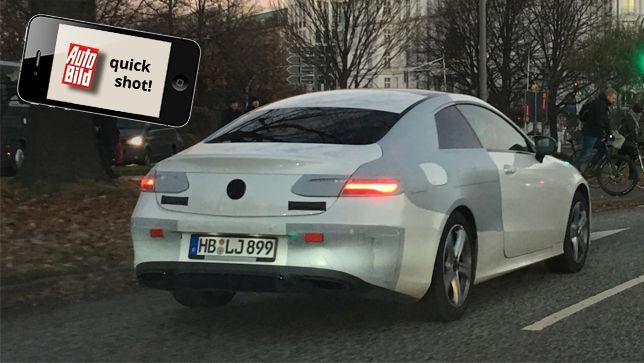 E-Klasse Coupé Erlkönig