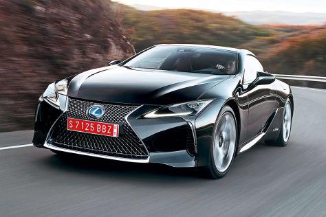 Lexus LC 500 h (2016) im Test: Fahrbericht