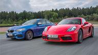 BMW M240i/Porsche 718 Cayman: Test
