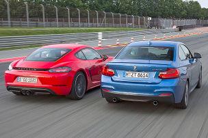BMW fordert Porsche heraus