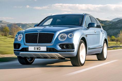 Bentley Bentayga V8 Diesel (2016) im Test: Fahrbericht