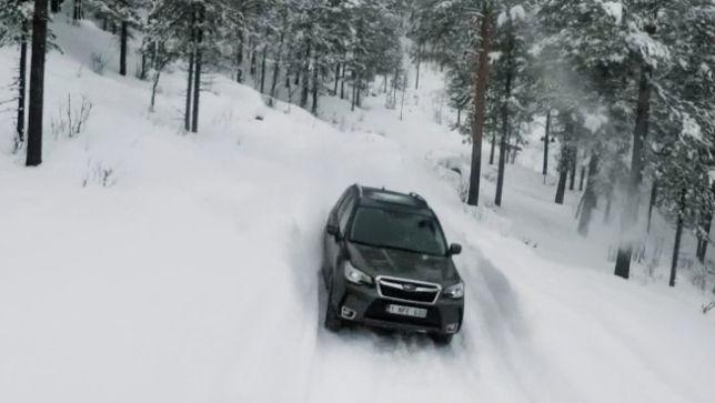 Weihnachtsgruß von Subaru