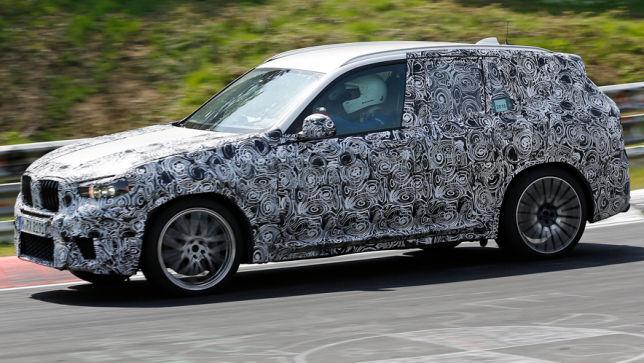 BMW X3 - Prototyp gesichtet!